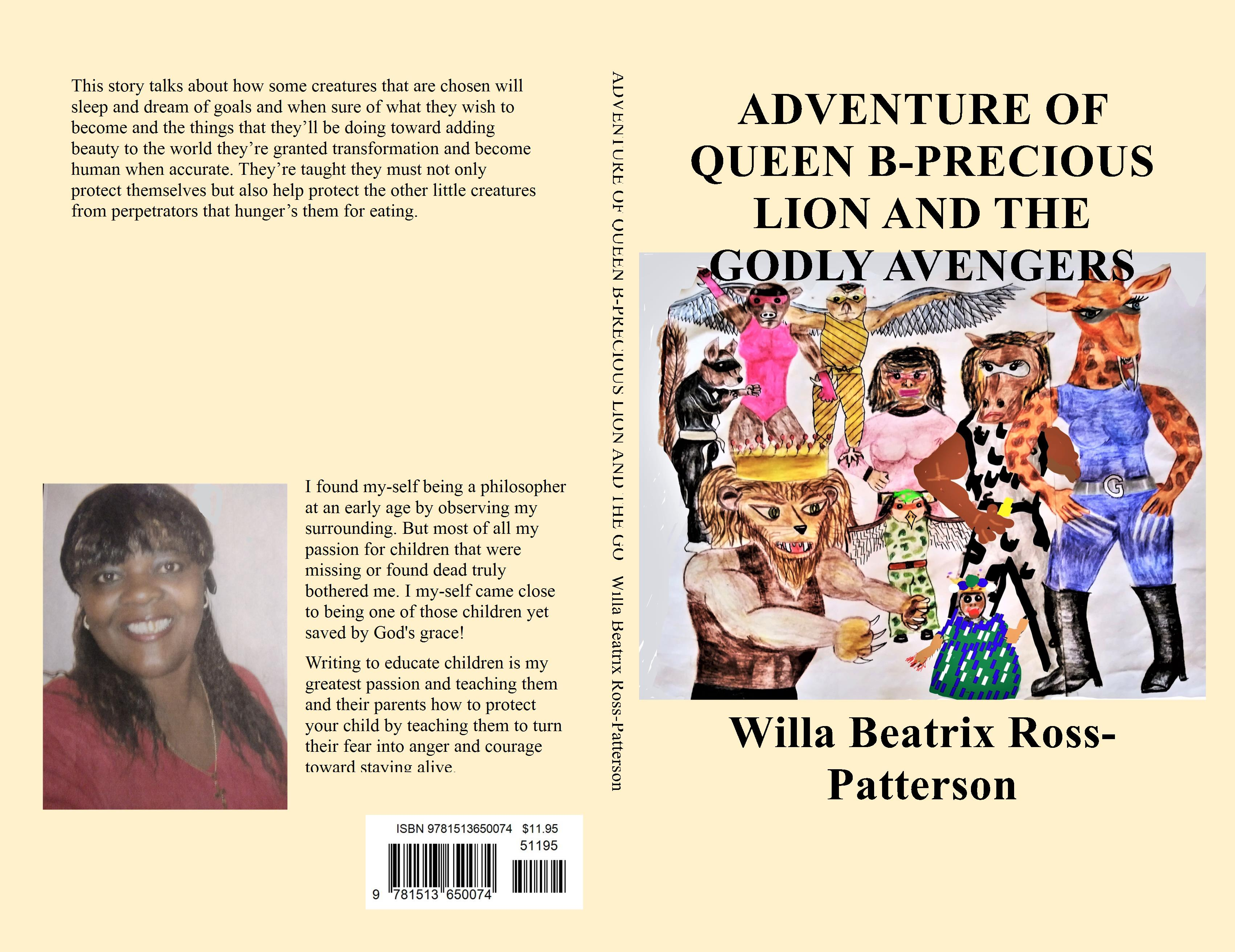 ADVENTURE OF QUEEN B-PRECIOUS LION AND THE GODLY AVENGERS cover image