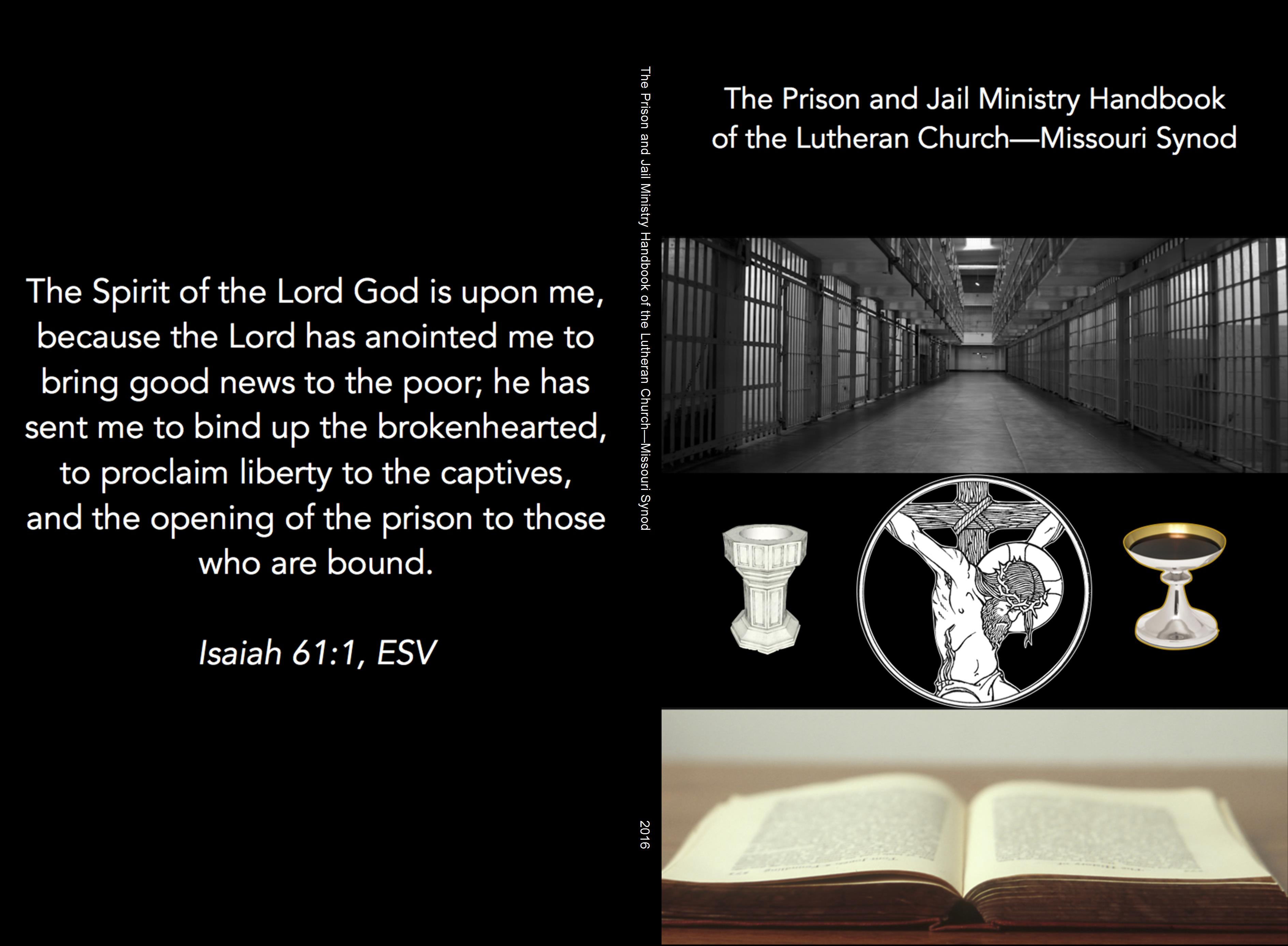 The Prison and Jail Ministry Handbook of the Lutheran Church—Missouri Synod cover image