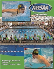2014 KHSAA Swimming & Diving Championship Program (B&W) cover image