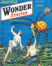 Wonder Stories 1930 September cover image