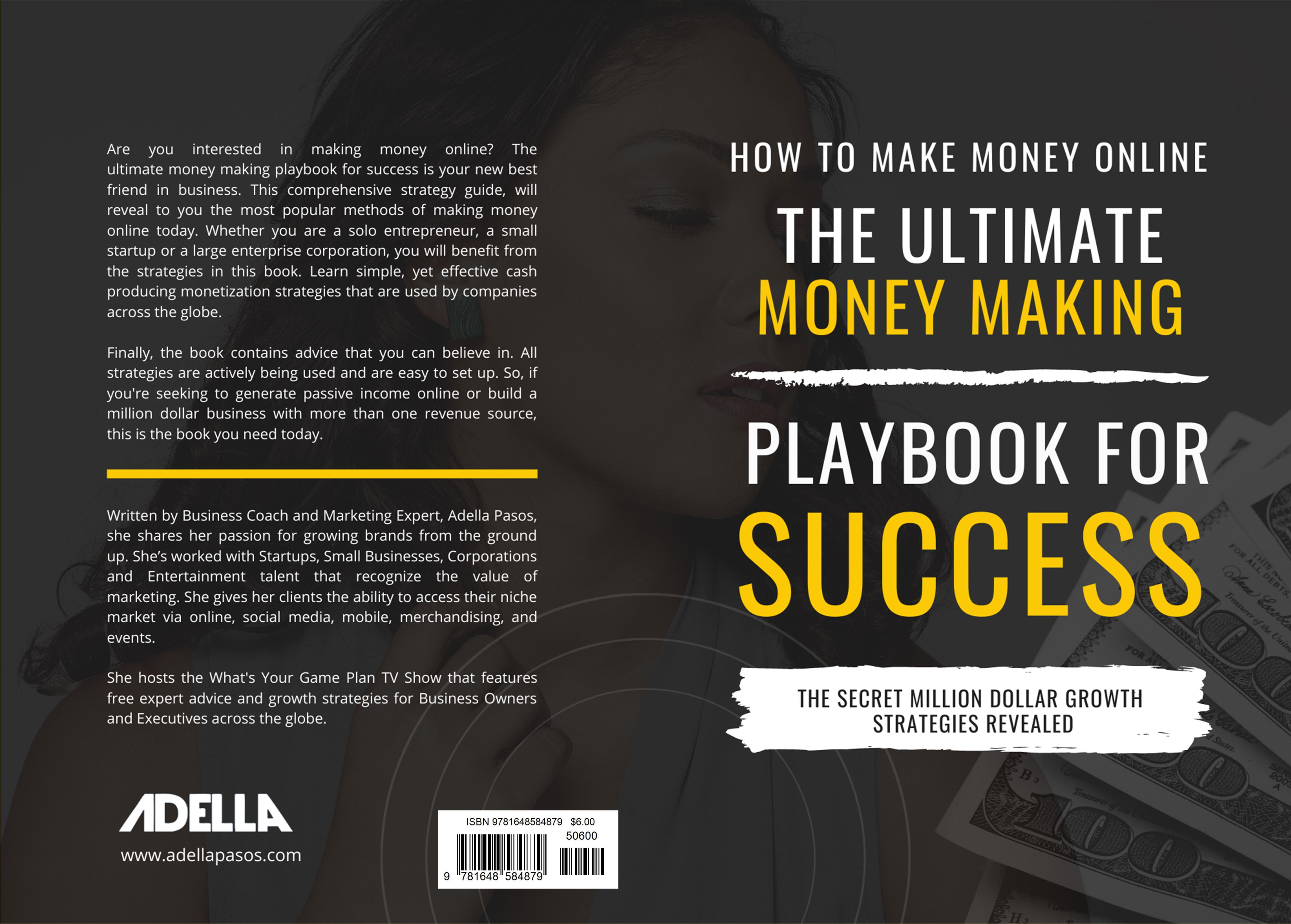 How to Make Money Online - The Ultimate Money Making Playbook for Success cover image