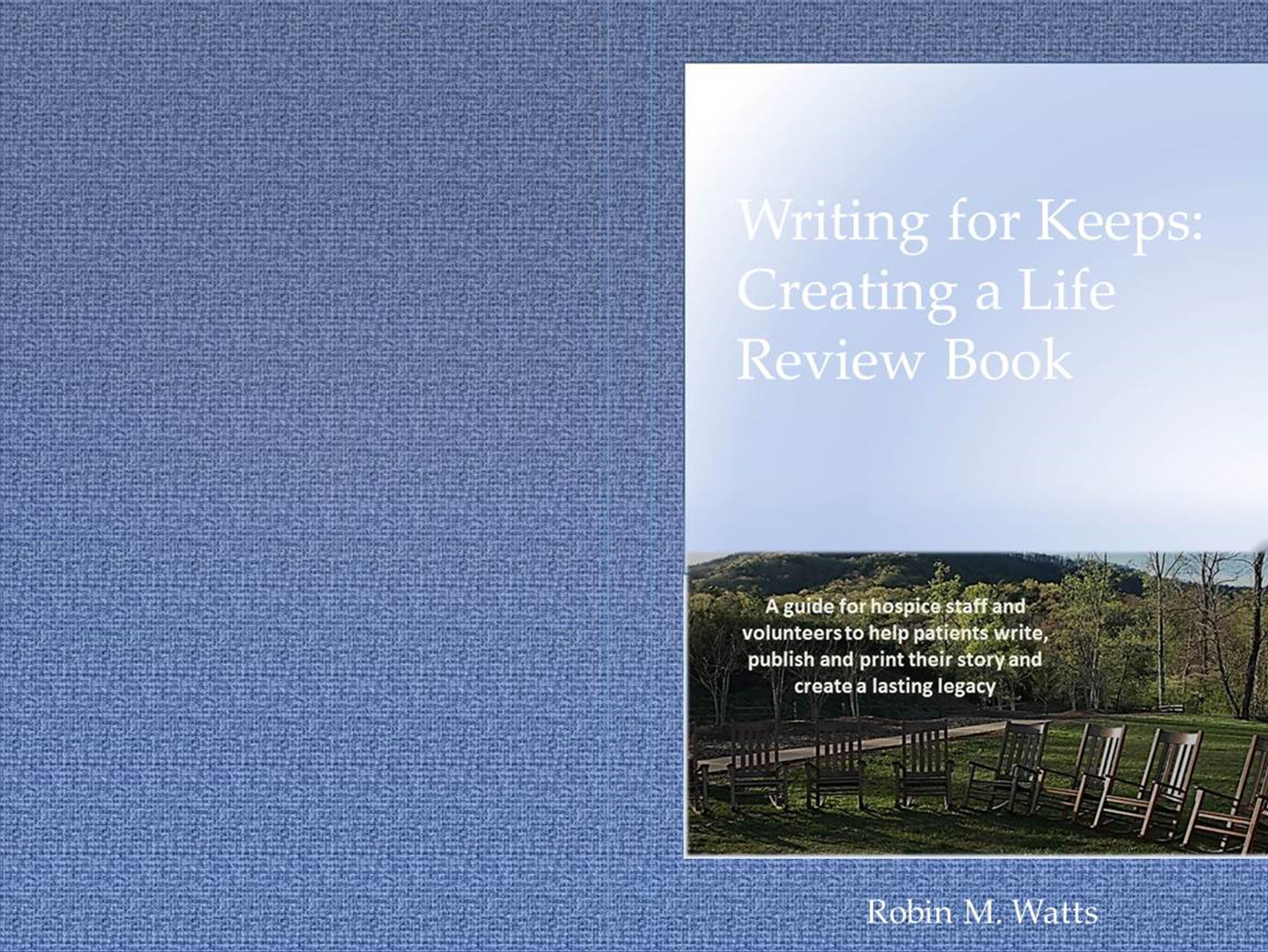 Writing for Keeps: Creating a Life Review Book cover image