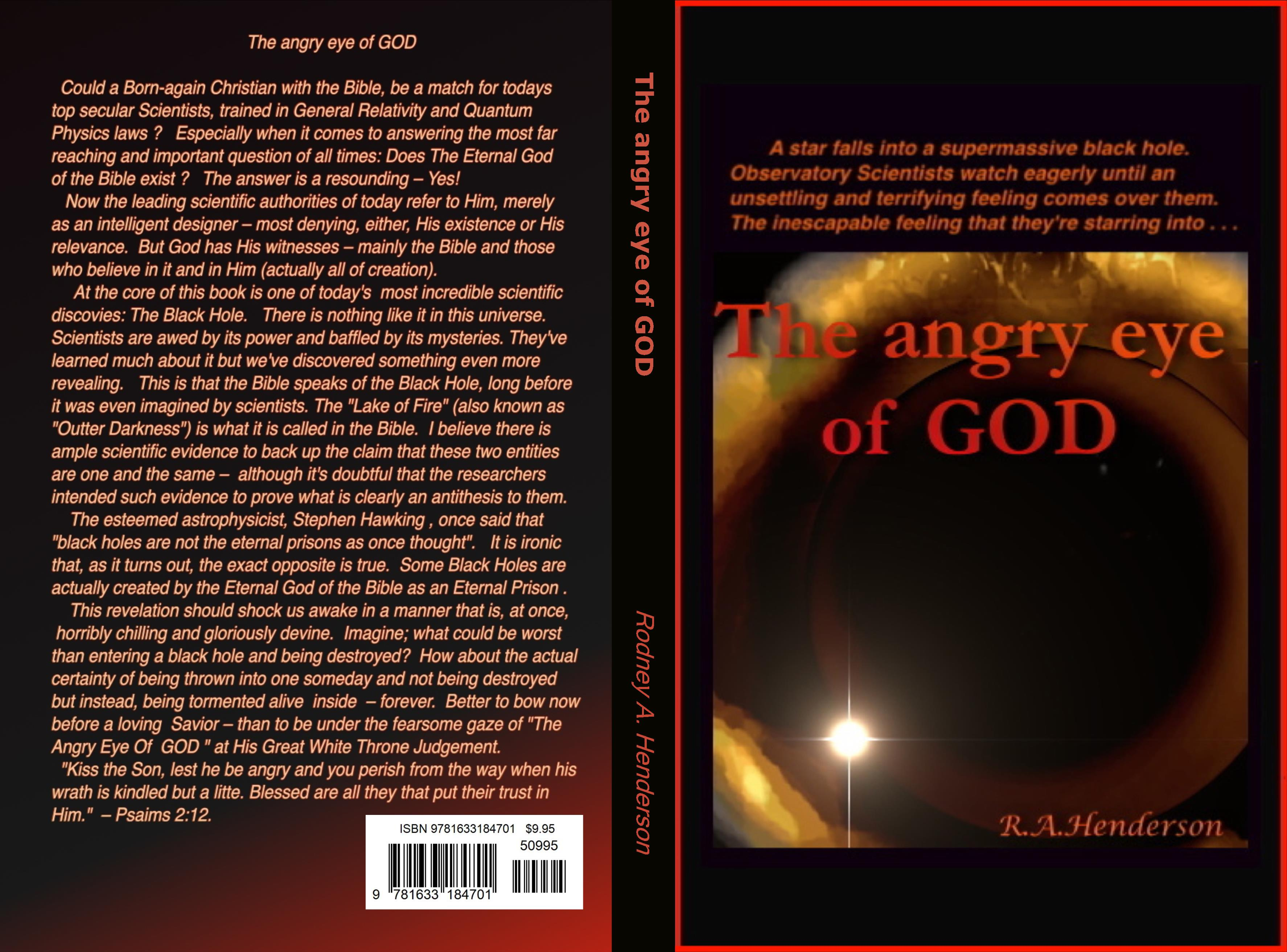 The angry eye of GOD cover image
