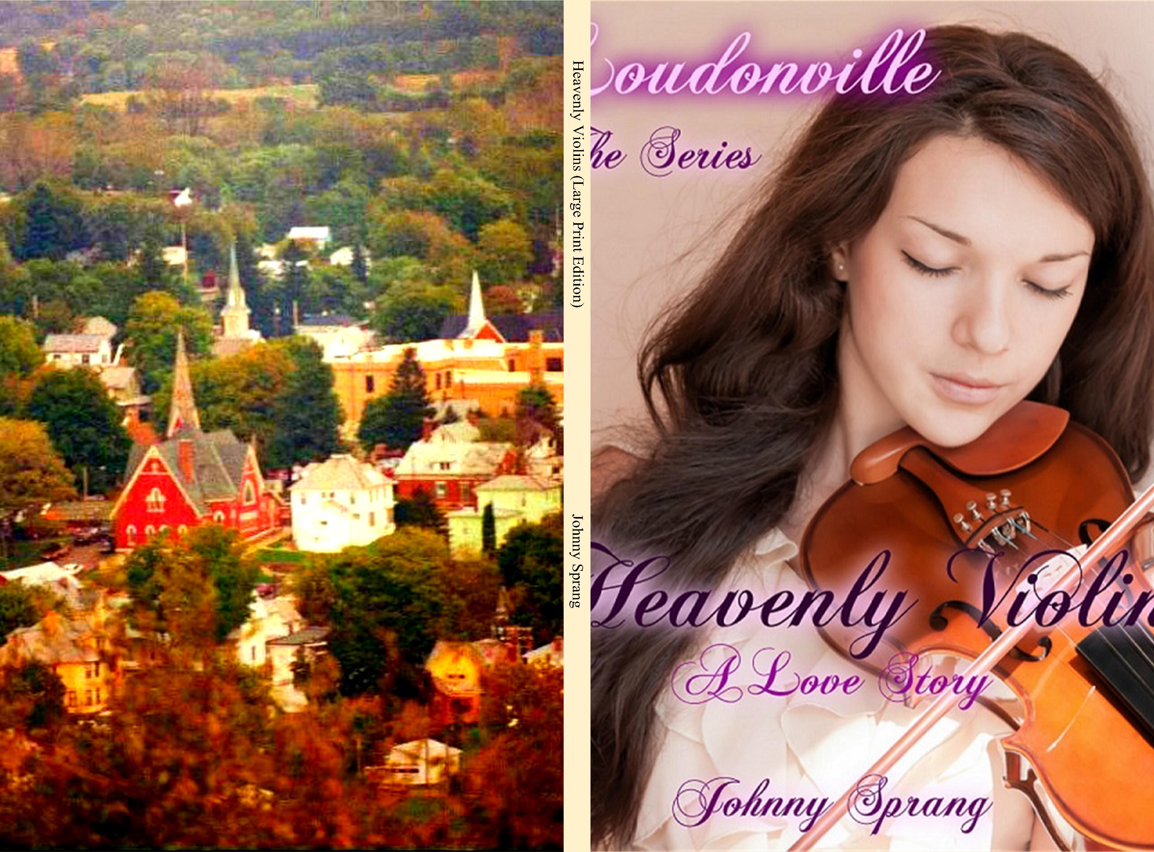 Heavenly Violins (Large Print Edition) cover image