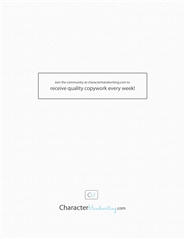 Character Italic - Basic Print cover image