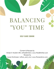 Balancing Your Self Care Ebook cover image