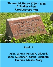 Thomas McHenry 1760-1835 A Soldier of the Revolutionary War cover image