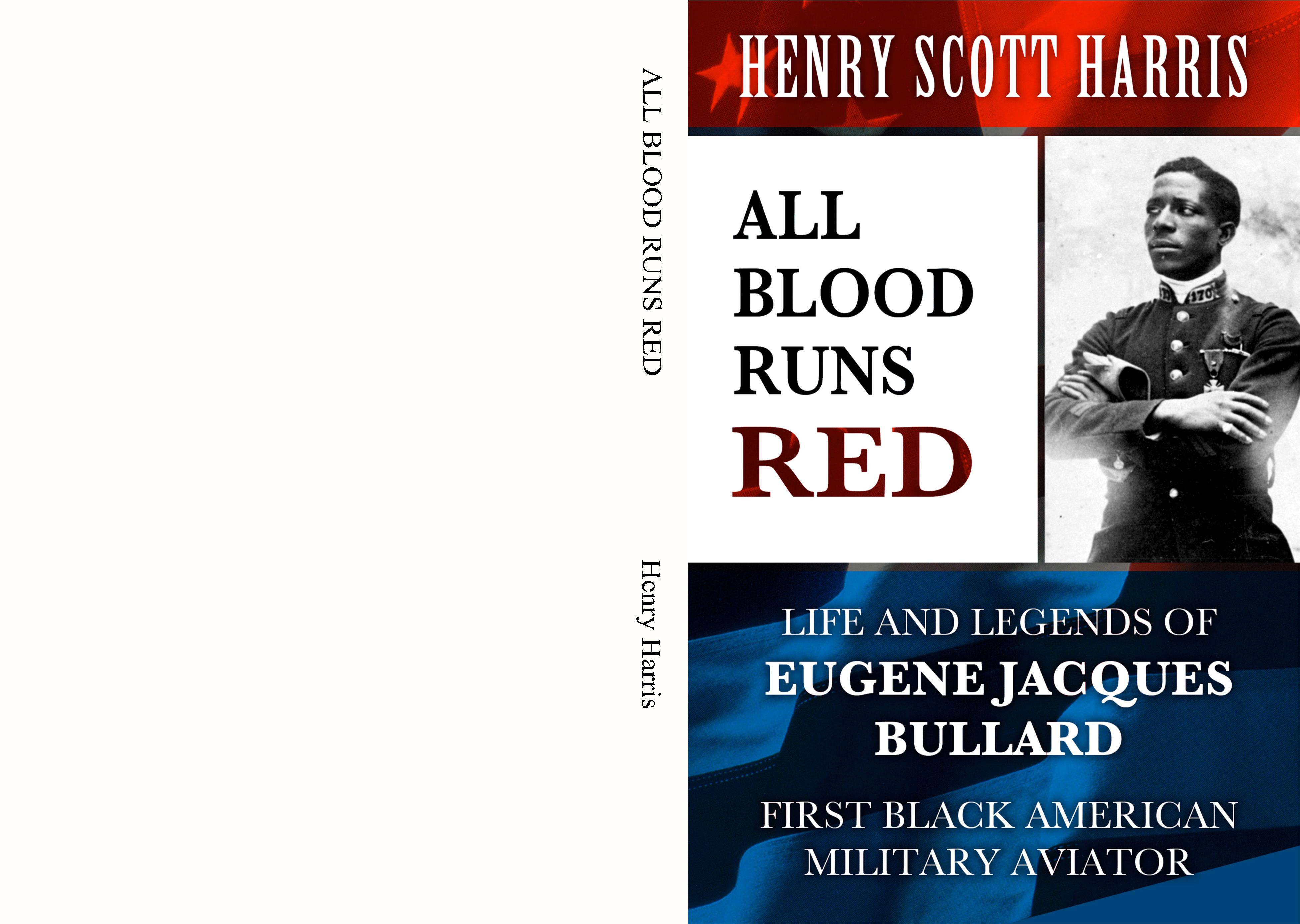 ALL BLOOD RUNS RED cover image