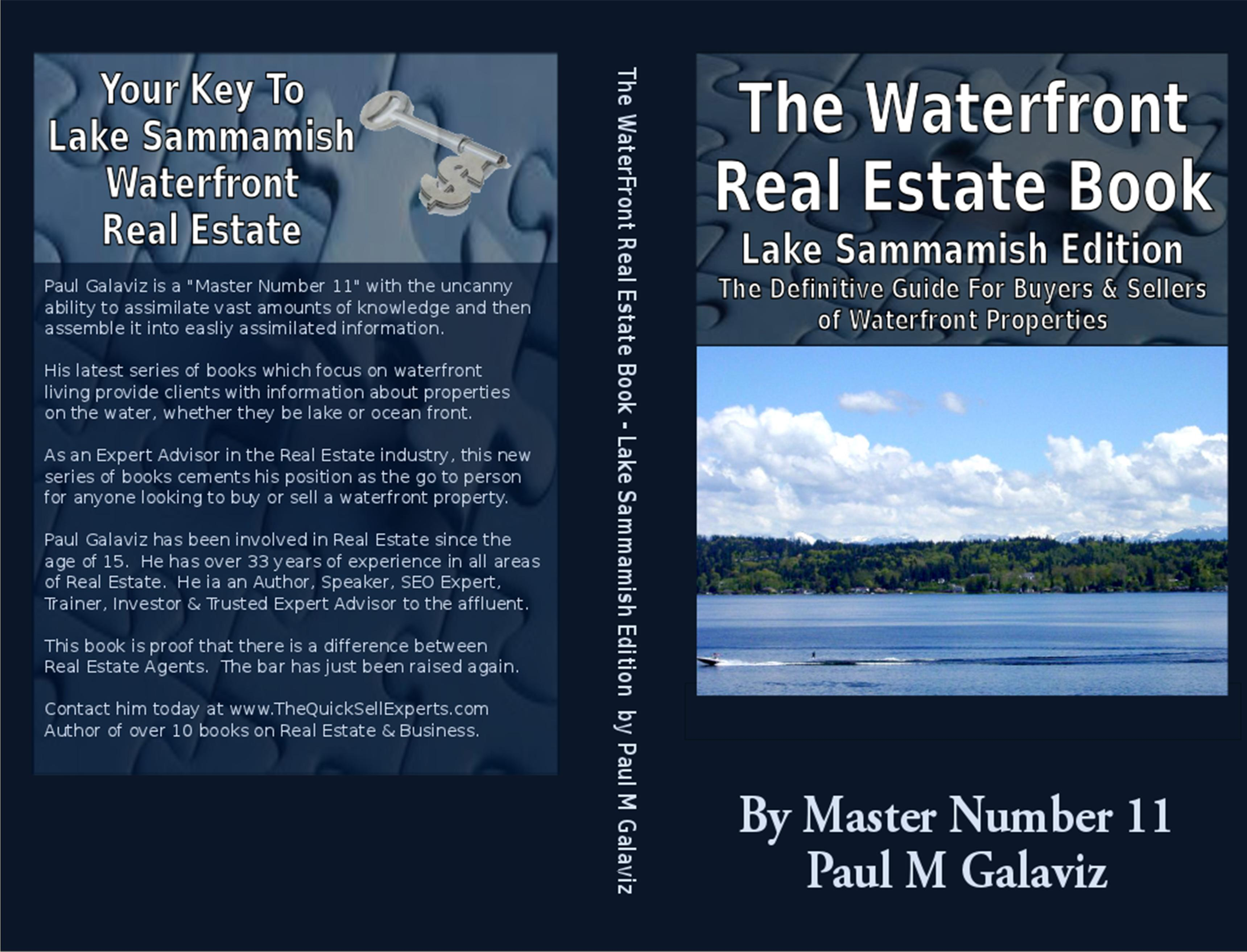 The Waterfront Real Estate Book-Lake Sammamish Edition cover image