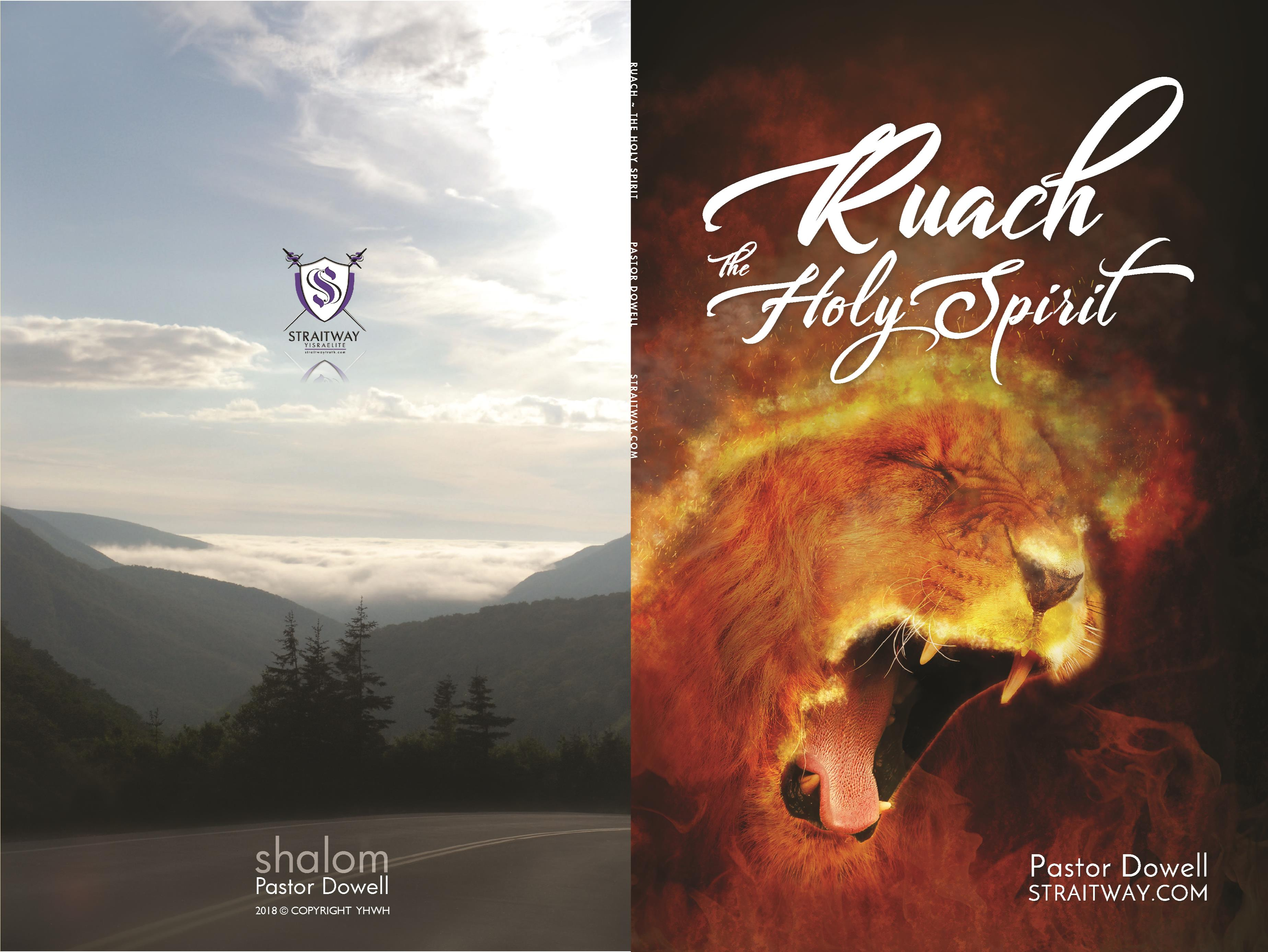 Ruach ~ The Holy Spirit by Pastor Dowell cover image