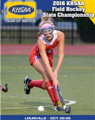 2016 KHSAA Field Hockey State Championship Program cover image