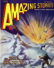 Amazing Stories 1929 July cover image