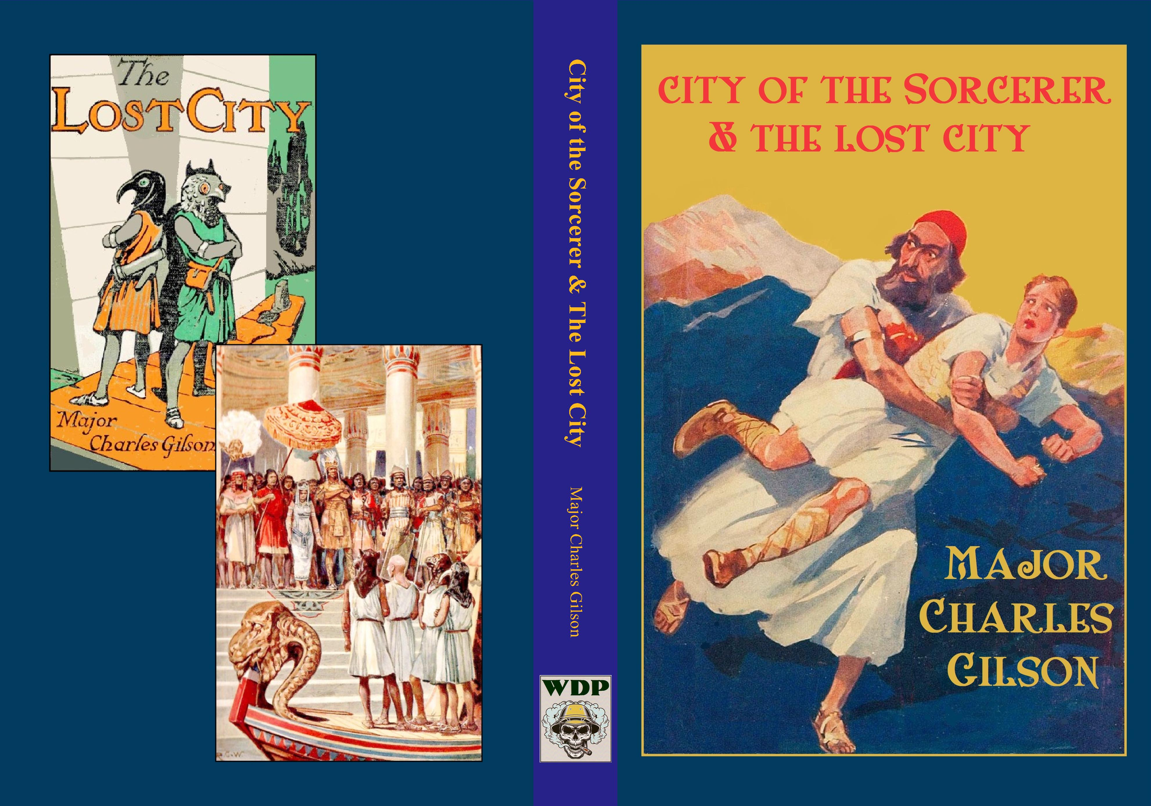 City of the Sorcerer & The Lost City cover image