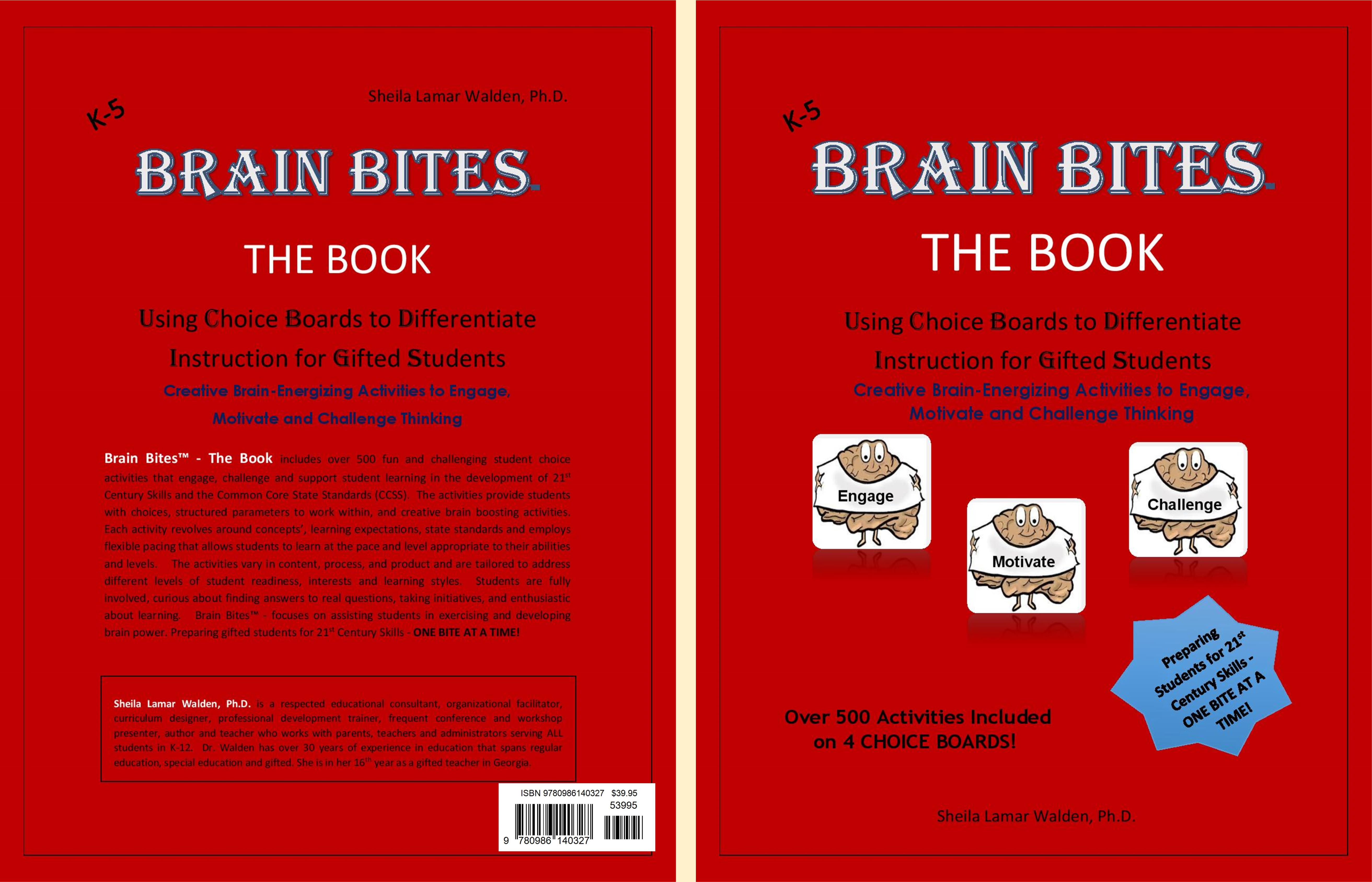 Brain Bites Using Choice Boards To Differentiate Instruction For