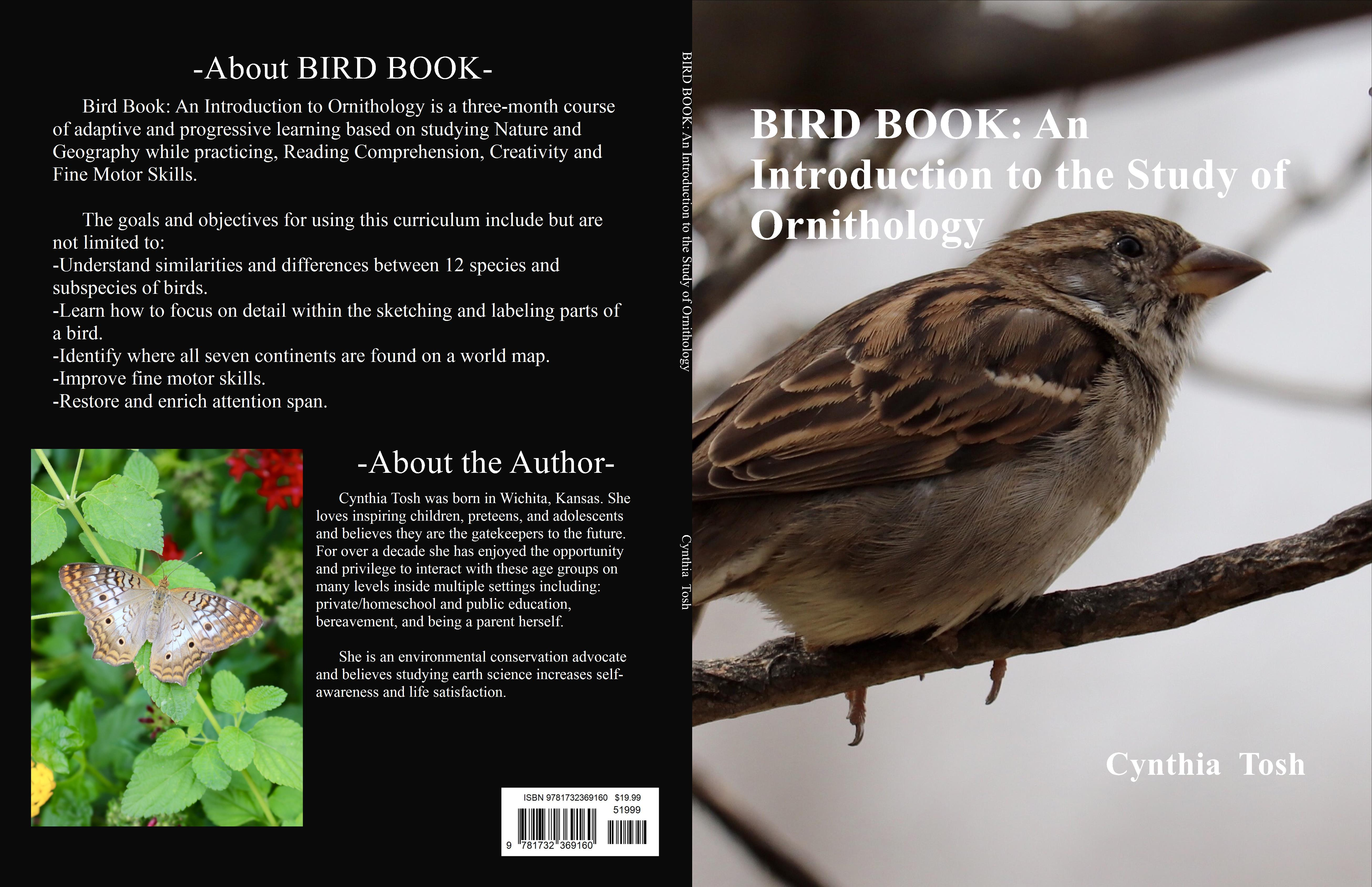 BIRD BOOK: An Introduction to the Study of Ornithology cover image