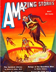 Amazing Stories 1931 May cover image