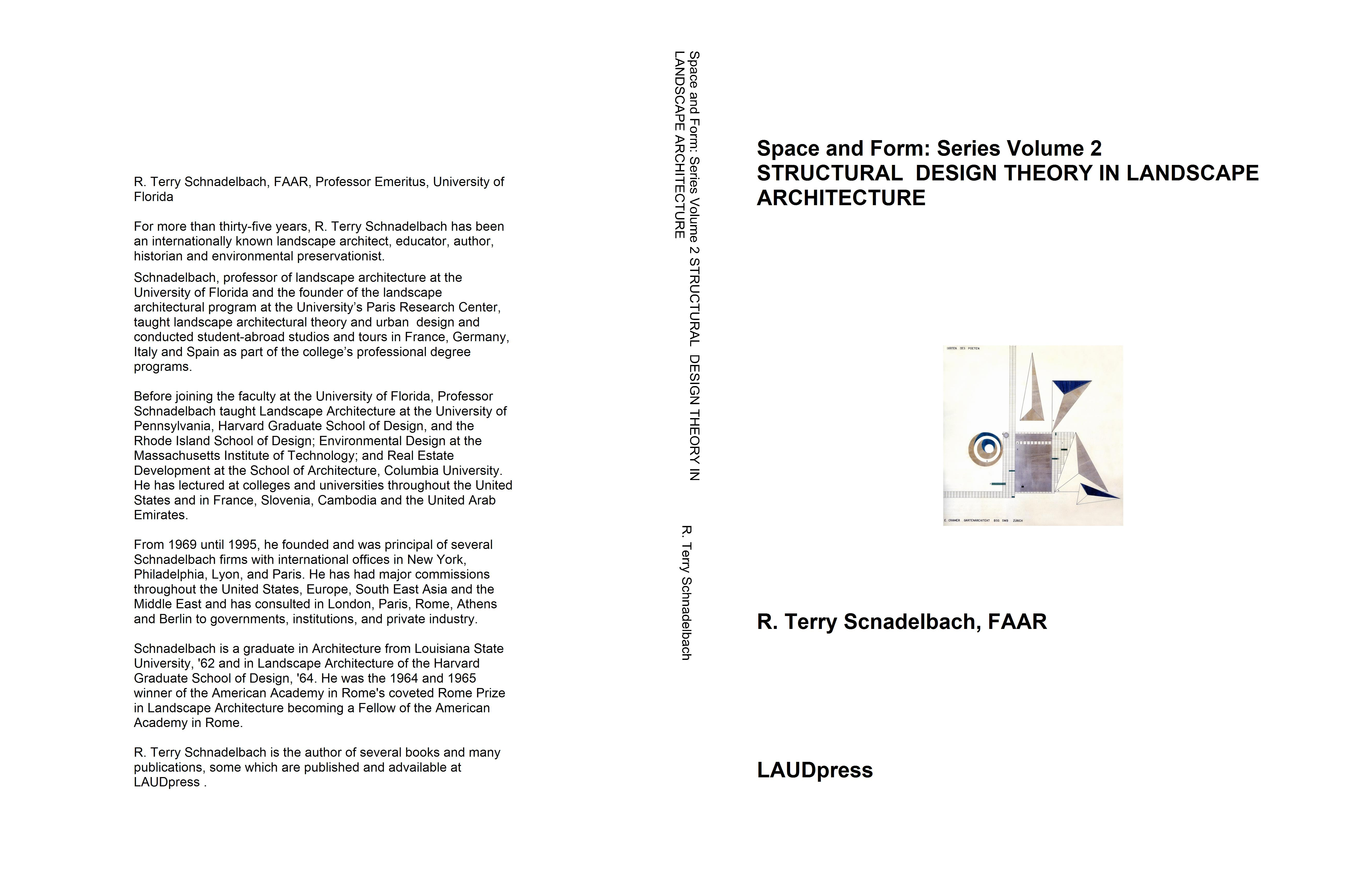 ... Space And Form: Series Volume 2 STRUCTURAL DESIGN THEORY IN LANDSCAPE  ARCHITECTURE Cover Image