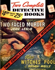 2 Complete Detective Books 1947 May cover image