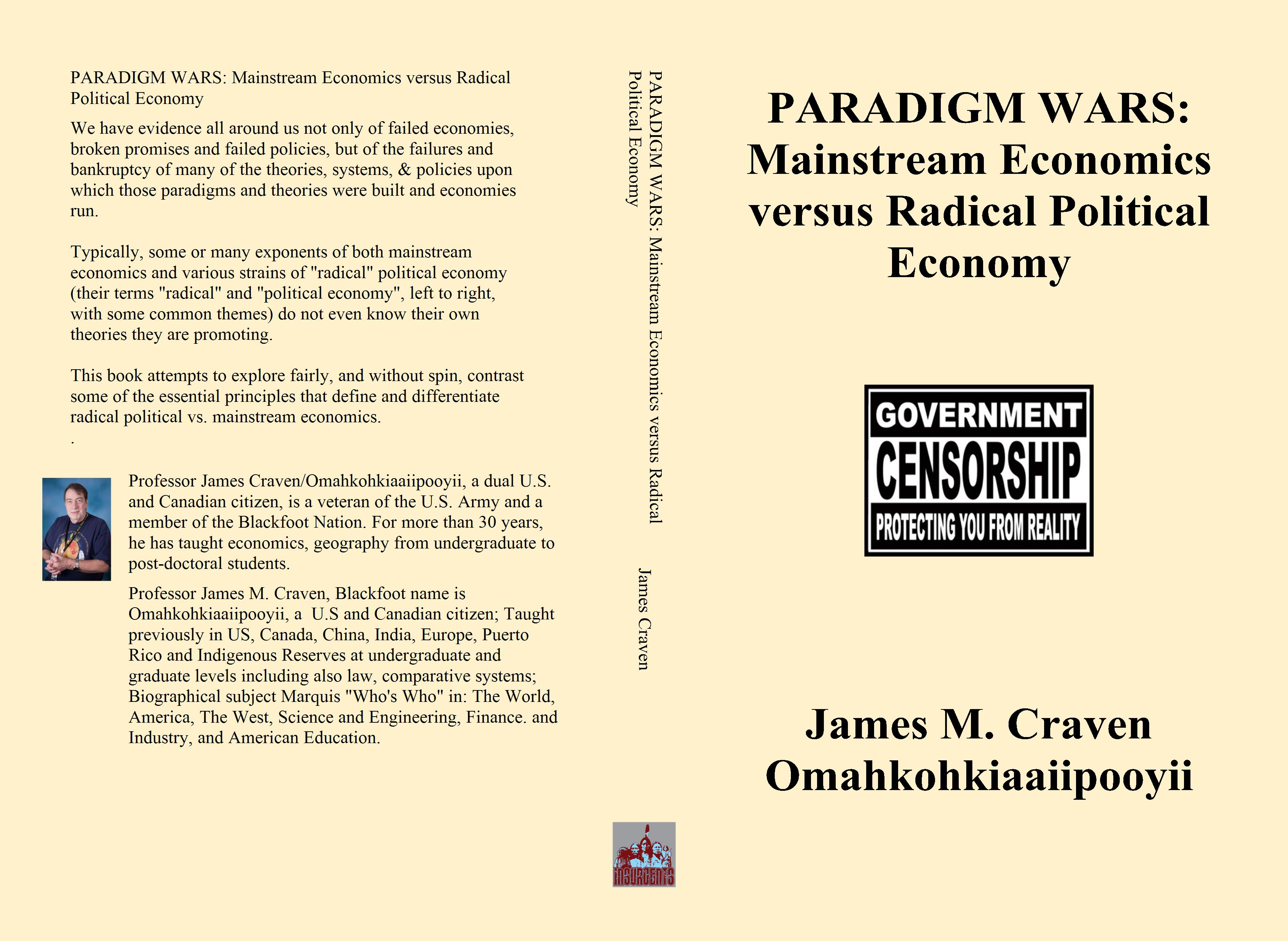 PARADIGM WARS: Mainstream Economics versus Radical Political Economy cover image