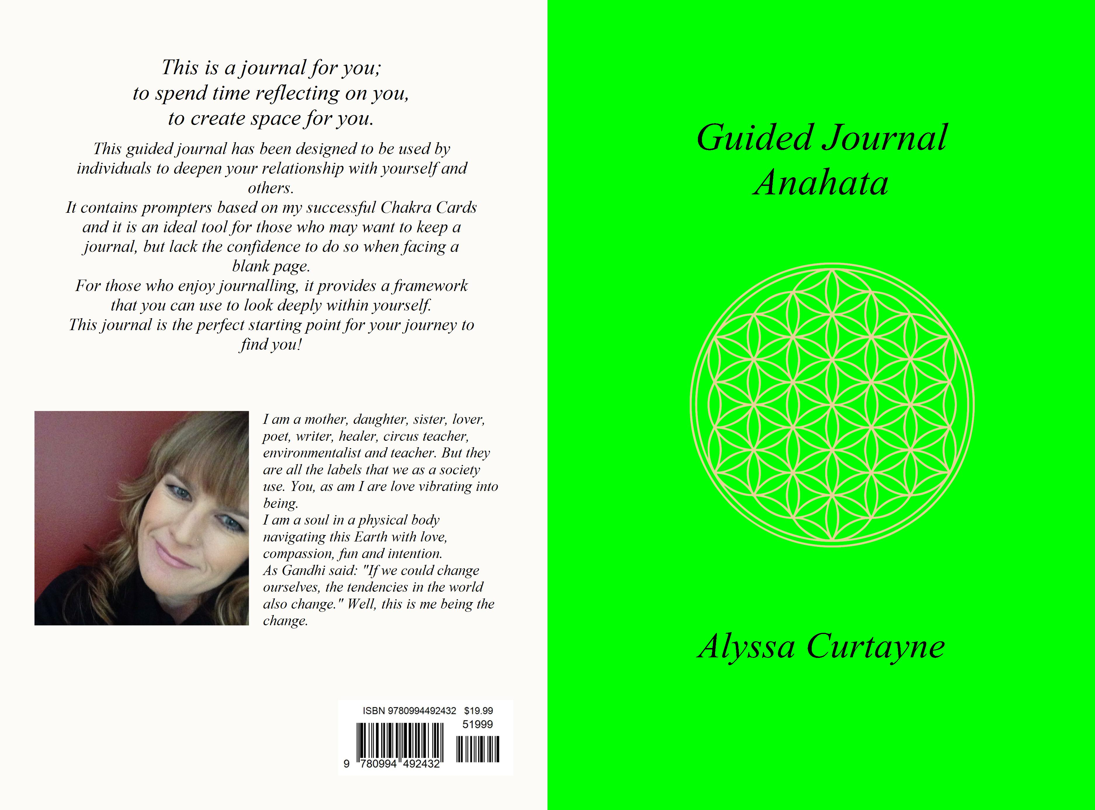 Guided Journal Anahata cover image