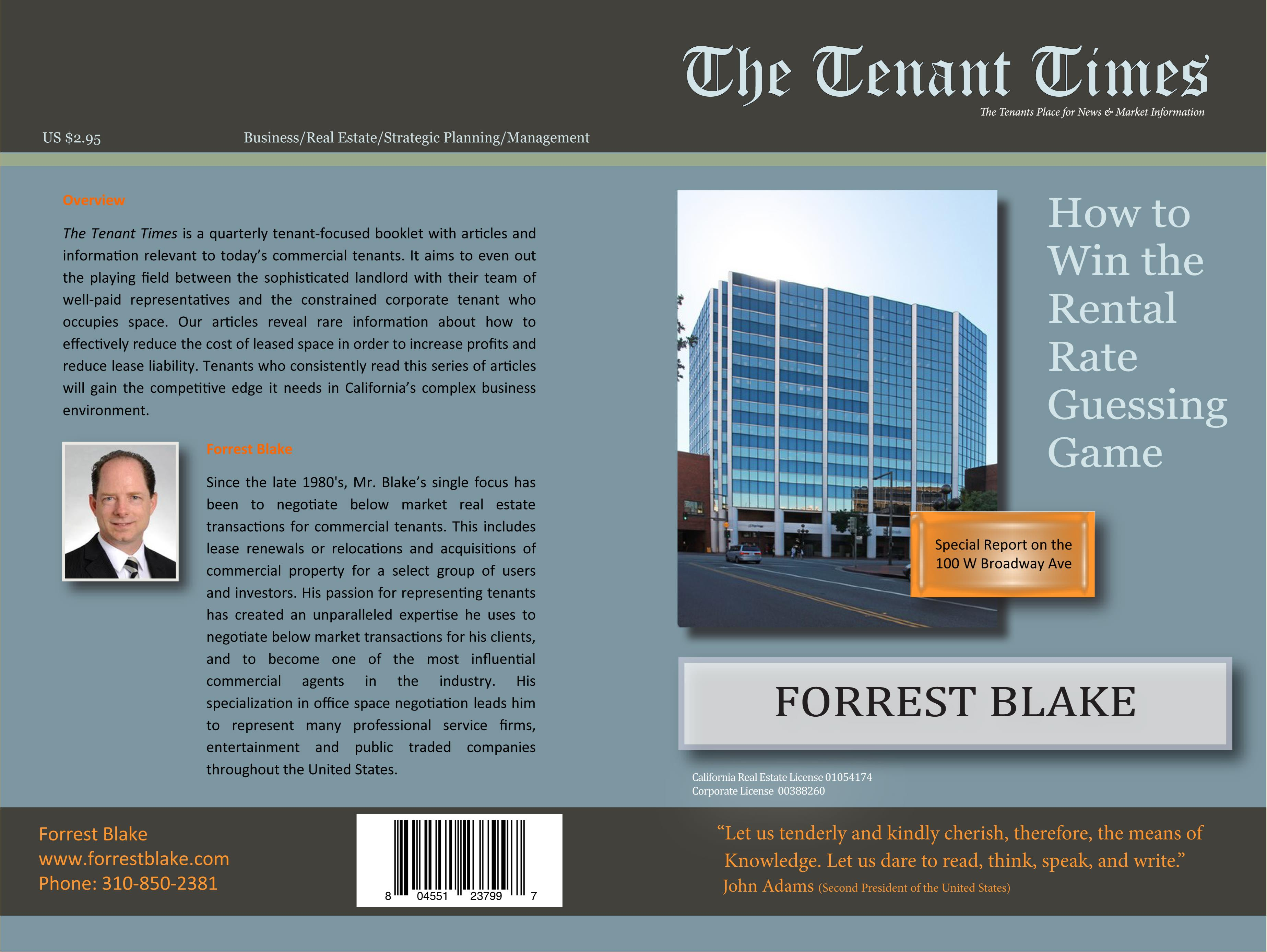 2Q Tenant Times 100 W Broadway cover image