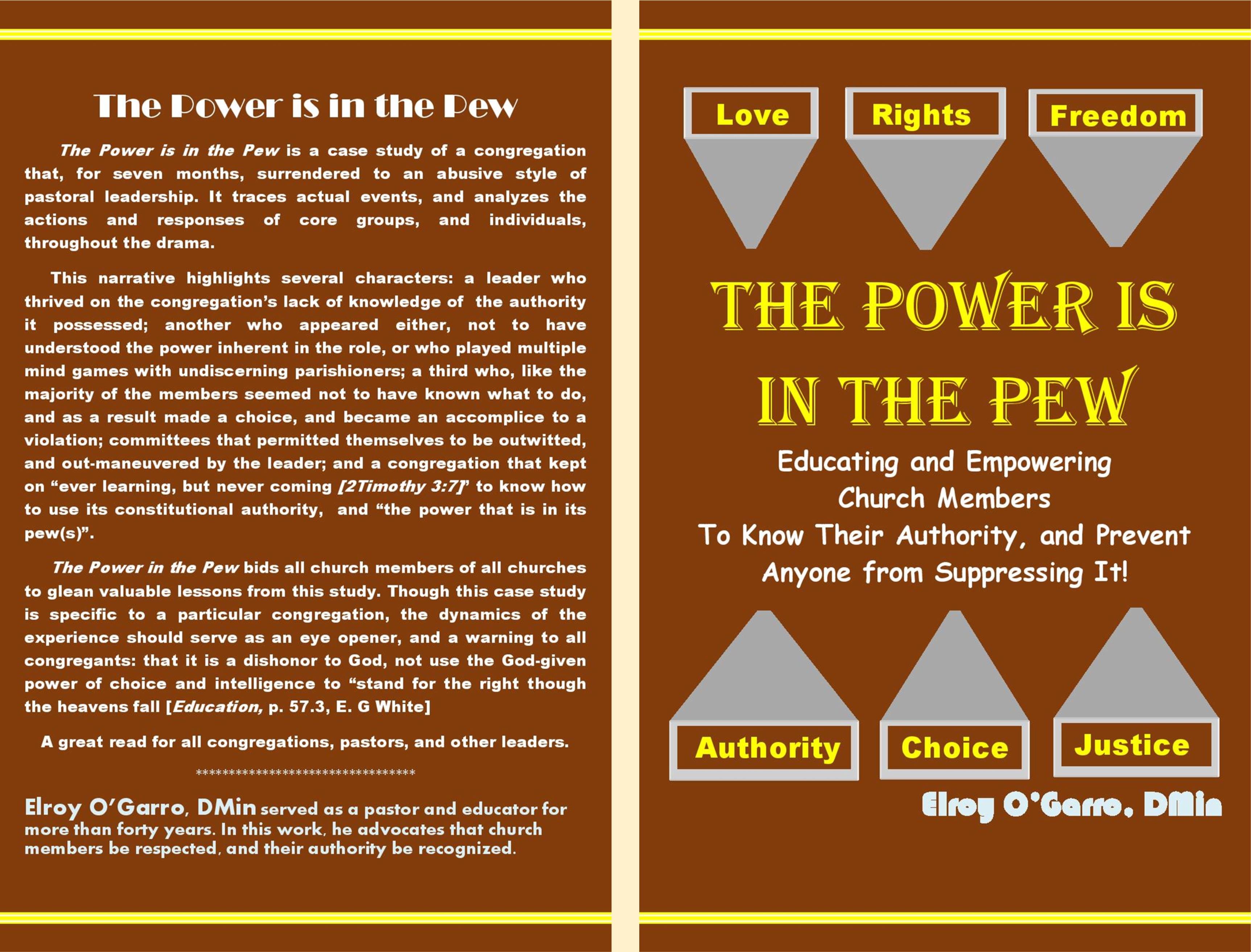 THE POWER IS IN THE PEW cover image