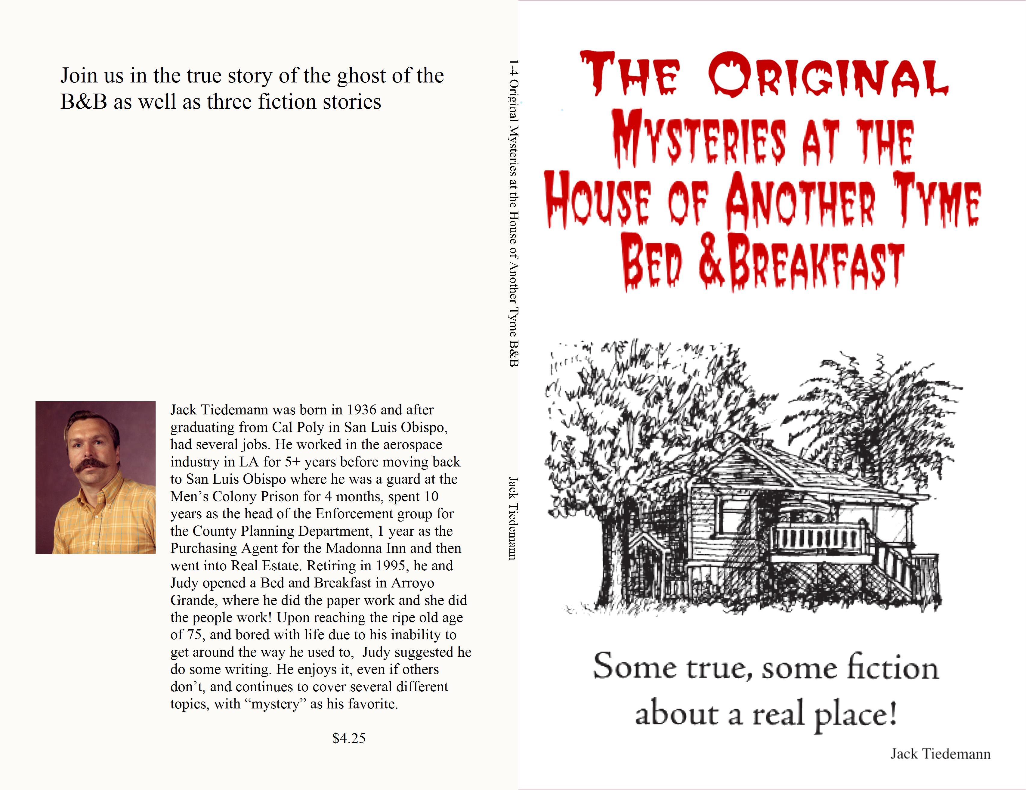 1-4 Original Mysteries at the House of Another Tyme B&B cover image