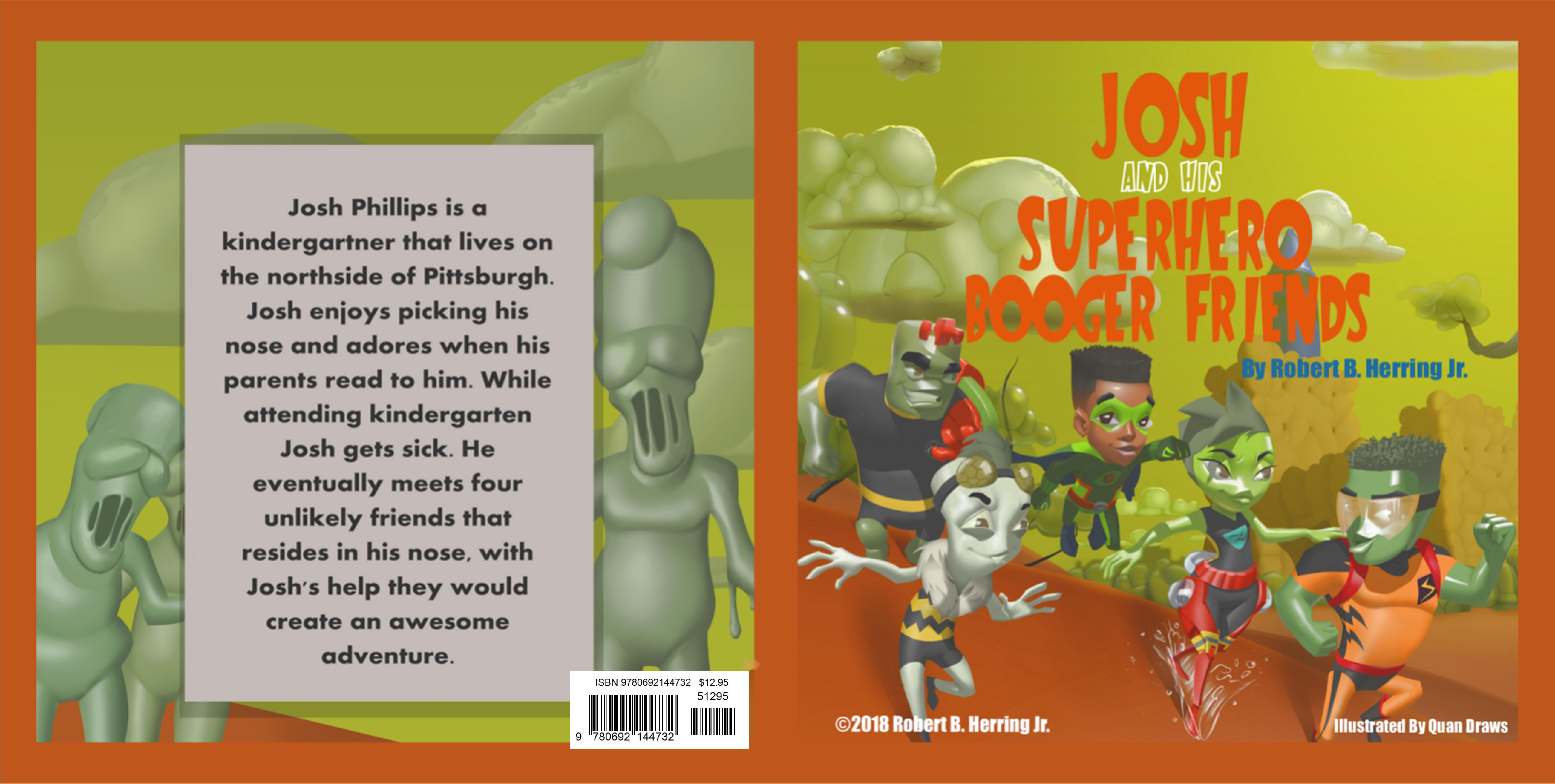 Josh and his Superhero Booger Friends cover image