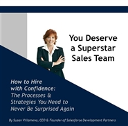 You Deserve a Superstar Sales Team cover image