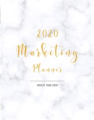 2020 Marketing Planner cover image