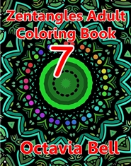 Zentangles Adult Coloring Book cover image