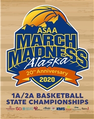 2020 1A/2A Basketball State Championship Qualifiers Program cover image