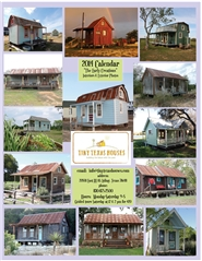Tiny Texas Houses Early Creations 2014 Calendar cover image