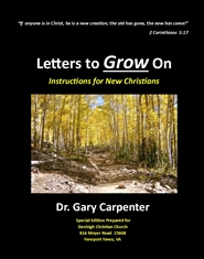 Letters to Grow On - Denbi ... cover image