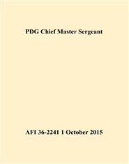 PDG Chief Master Sergeant cover image