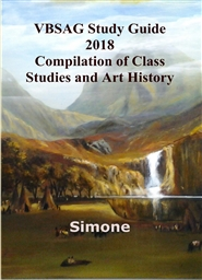 VBSAG Study Guide 2018 Compilation of Class Studies and Art History cover image