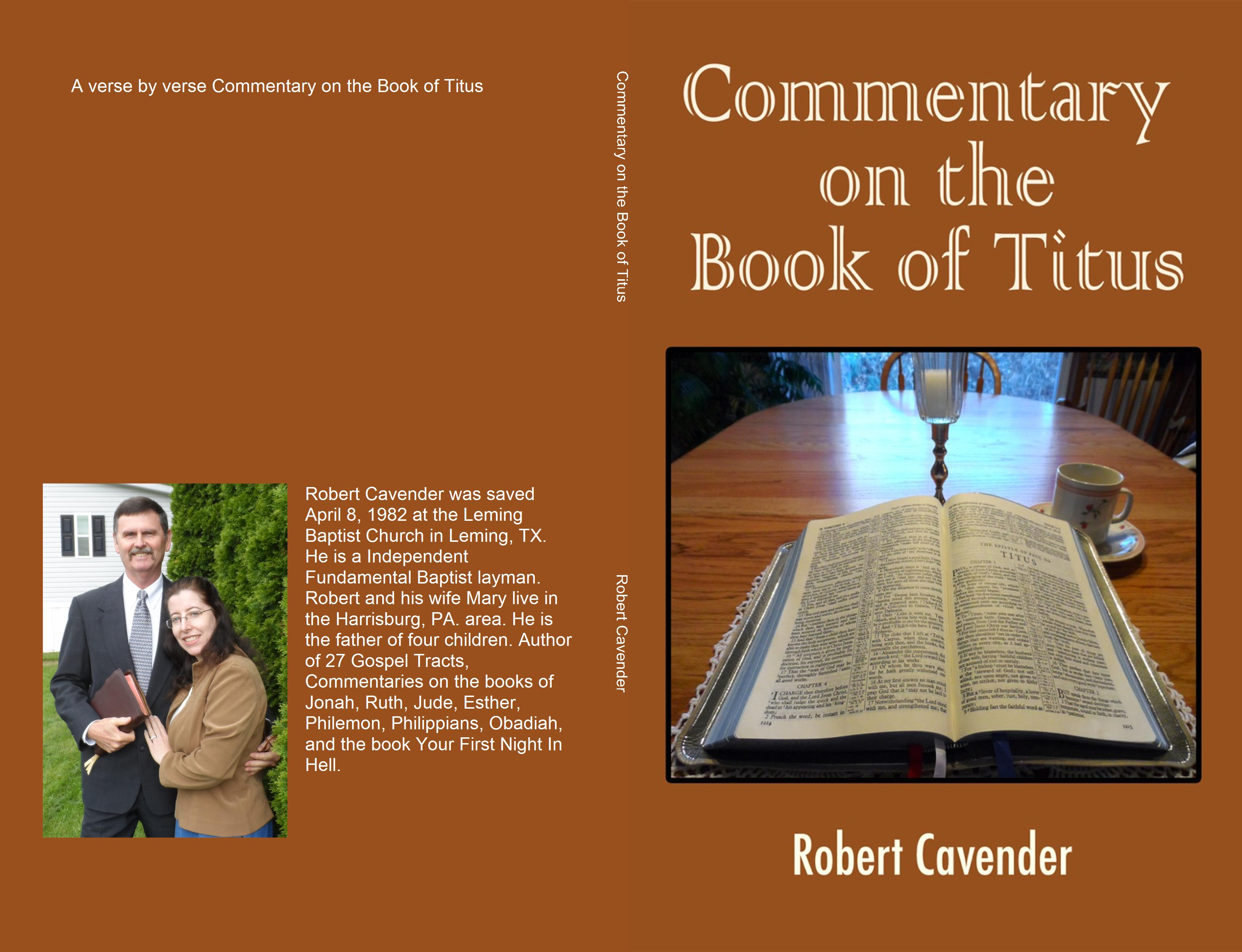 Commentary on the Book of Titus cover image