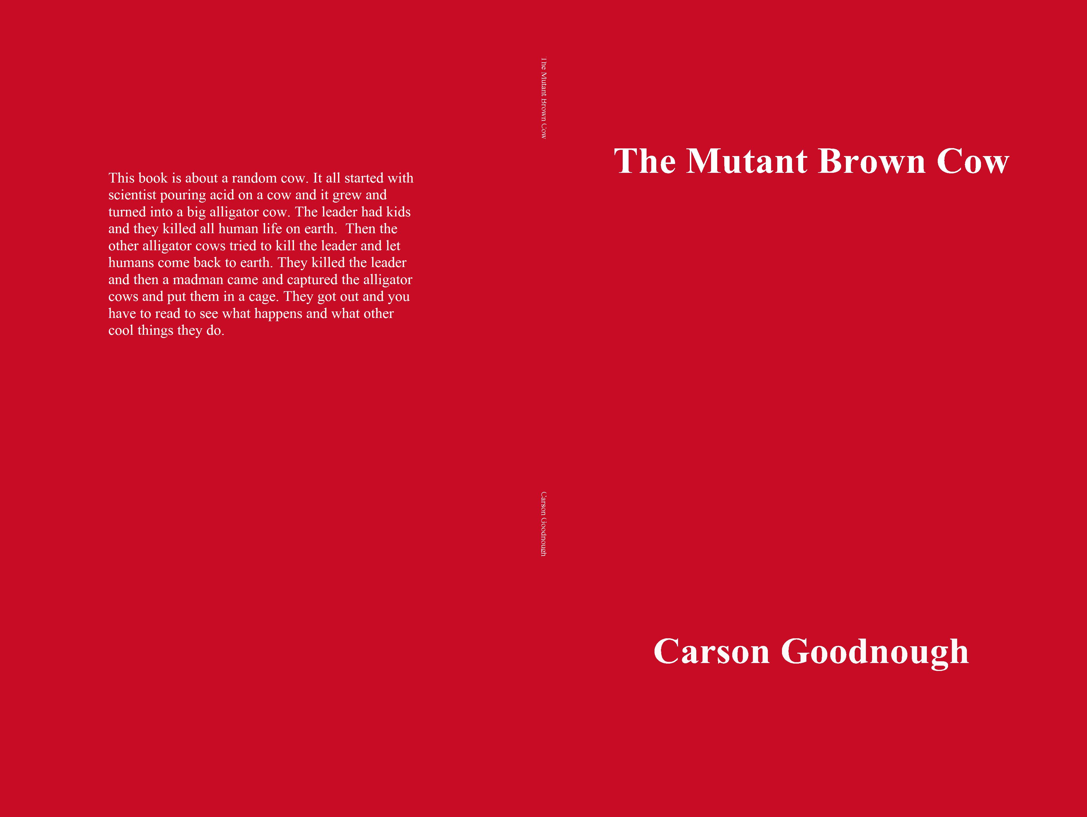 The Mutant Brown Cow cover image