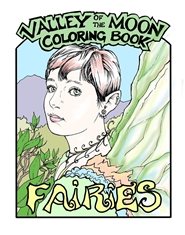 Valley of the Moon - Fairy Coloring Book cover image
