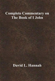 Complete Commentary on The Book of I John cover image