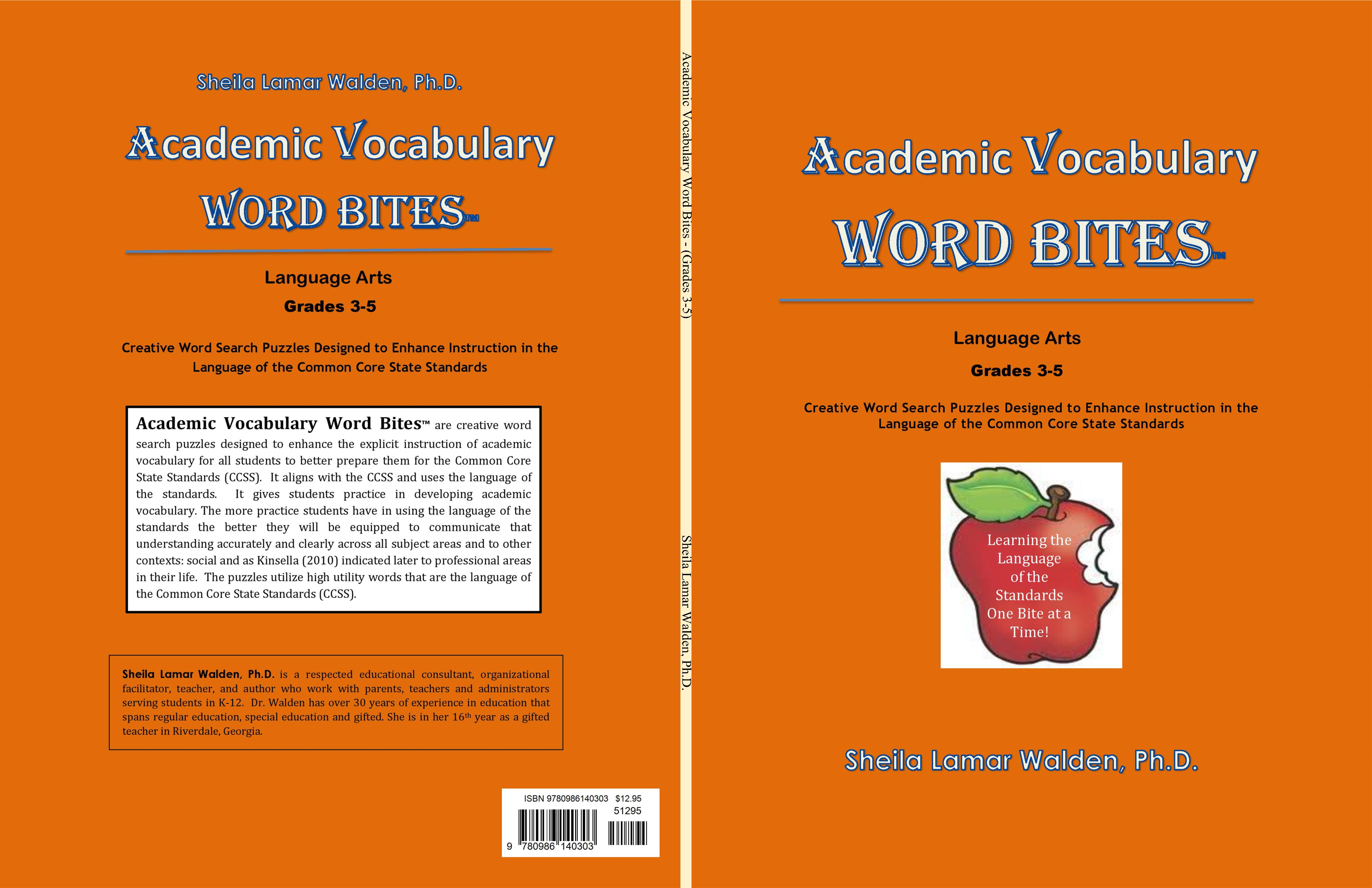 Academic Vocabulary Word Bites cover image