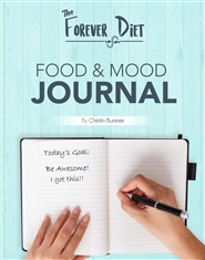 The Forever Diet Food and Mood Journal cover image