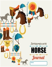 Intermediate Rider Workbook Journal cover image