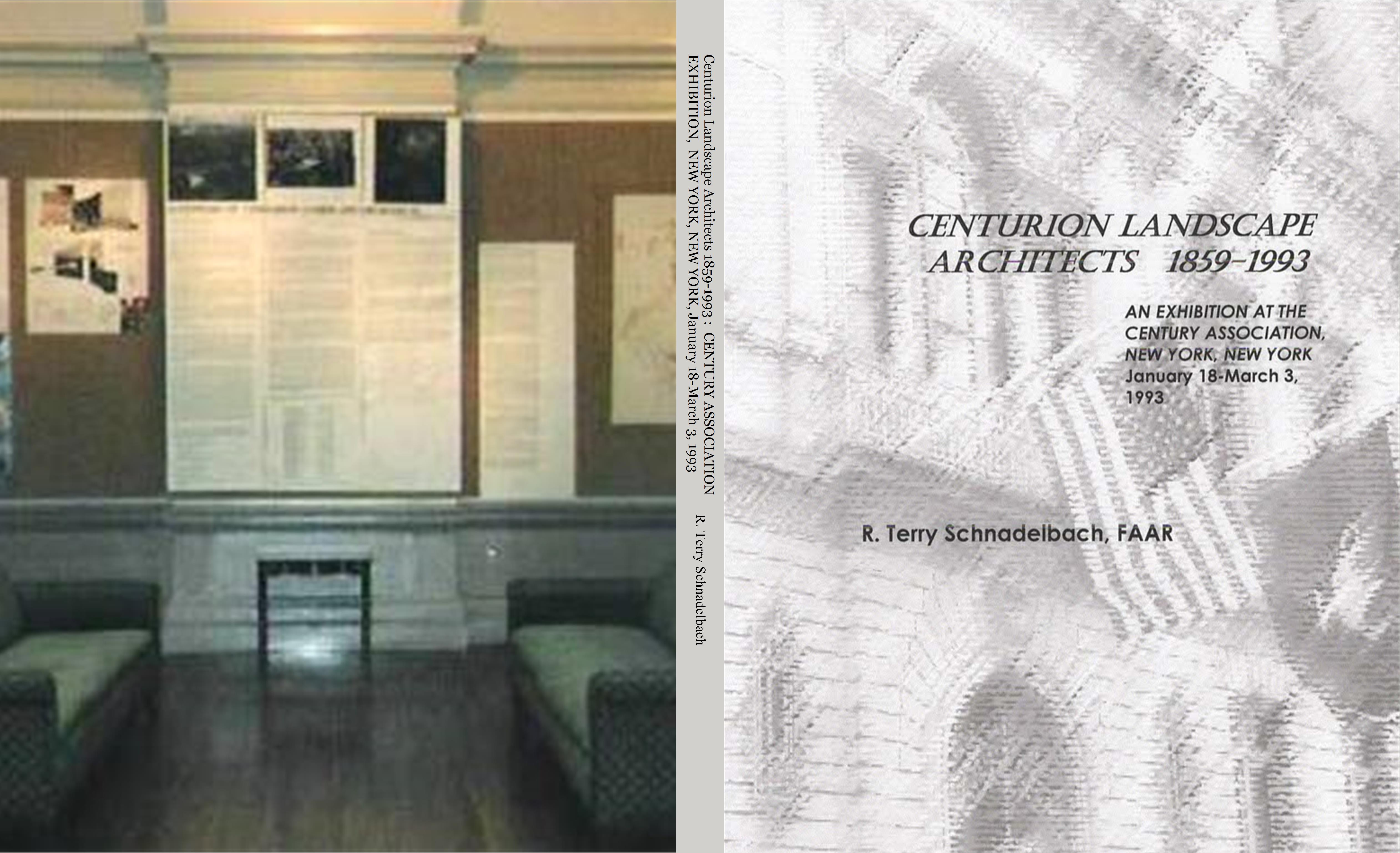 centurion landscape architects 1859 1993 century association exhibition new york january 18. Black Bedroom Furniture Sets. Home Design Ideas