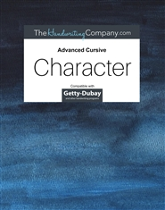 Character Italic - Advanced Cursive cover image