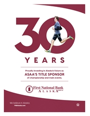 2020 ASAA/First National Bank Alaska Cross Country Running State Championships Program cover image