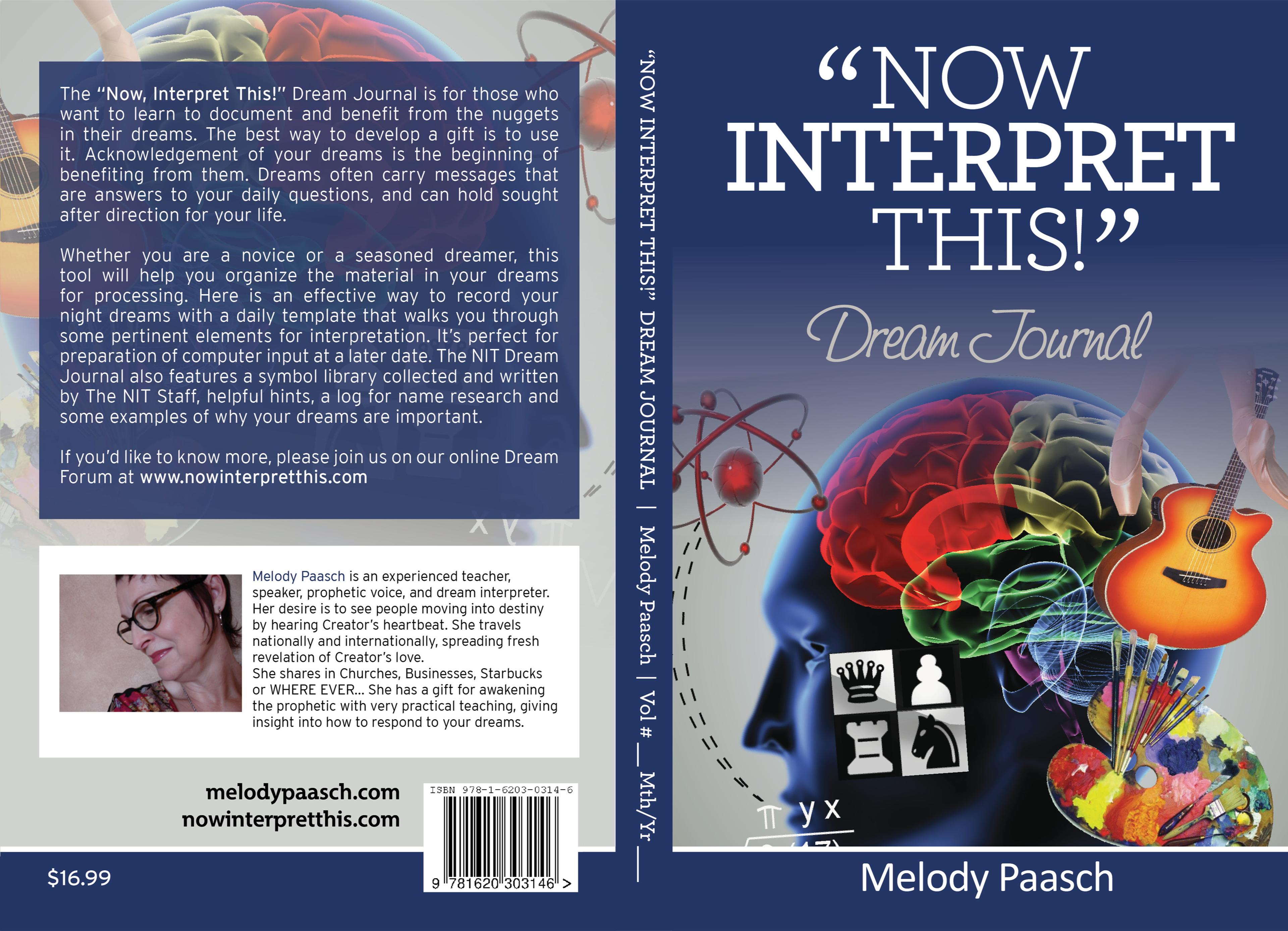 """Now, Interpret This!"" Dream Journal cover image"