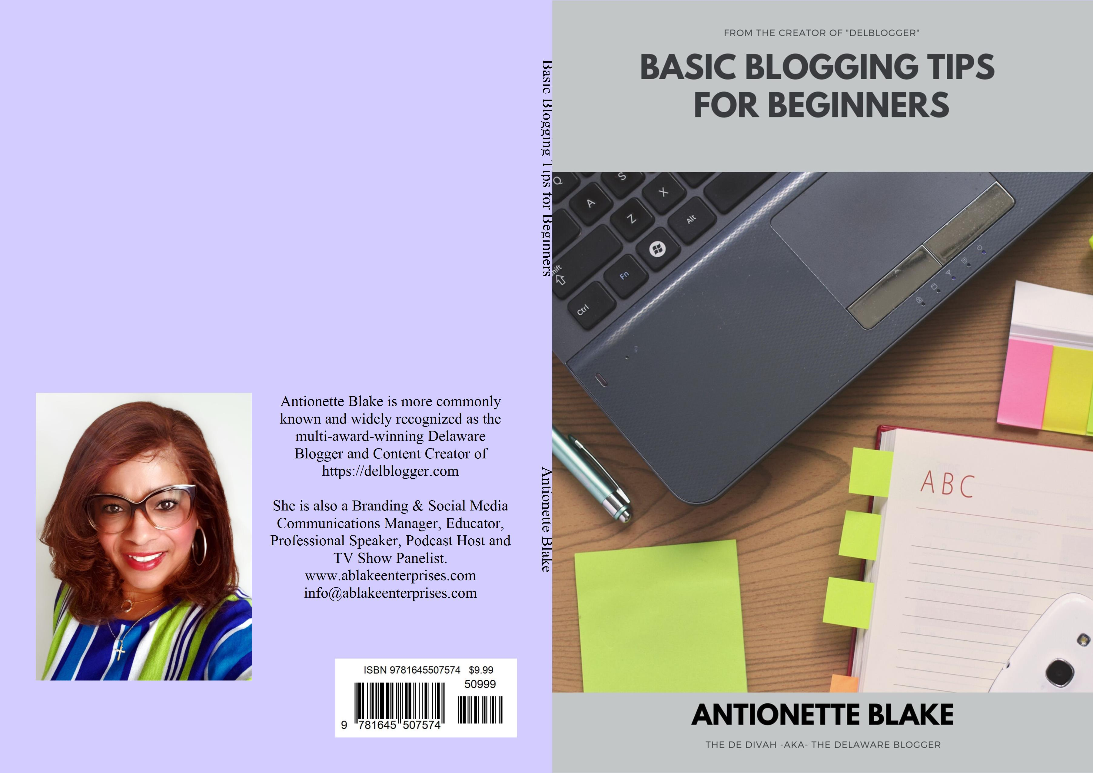 Basic Blogging Tips for Beginners cover image