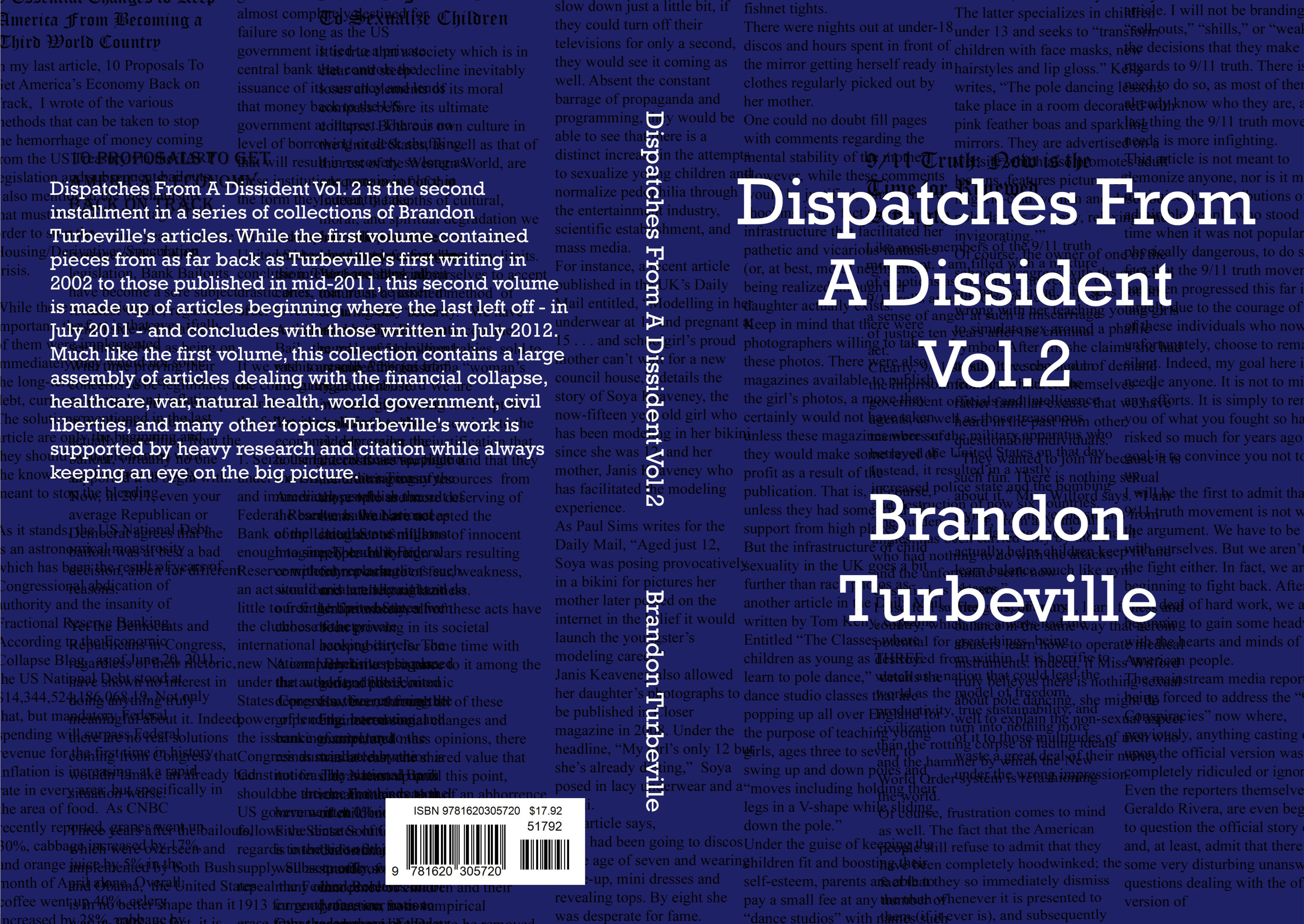 Dispatches From A Dissident Vol. 2 cover image