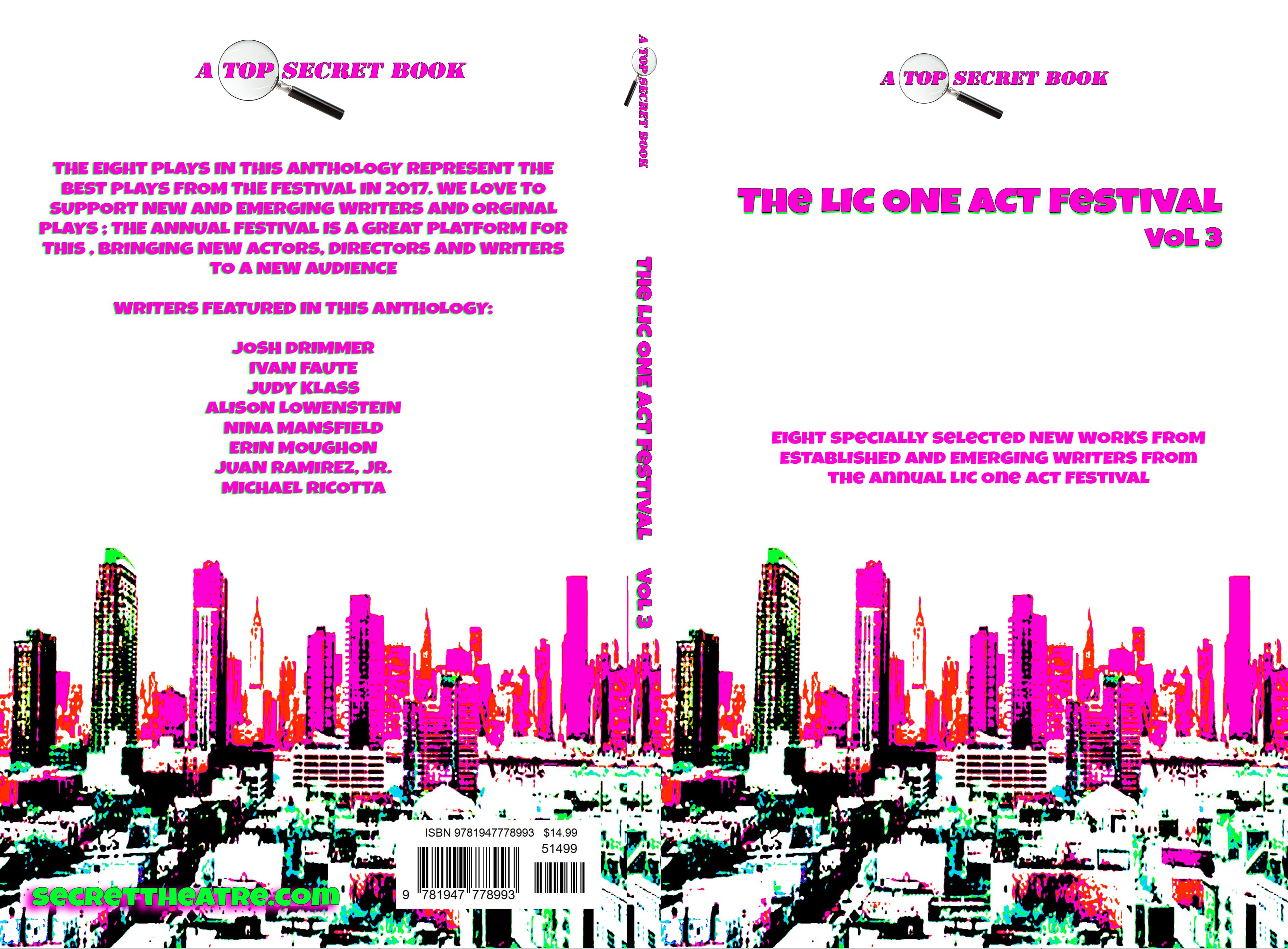The LIC ONE ACT FESTIVAL VOL 3 cover image